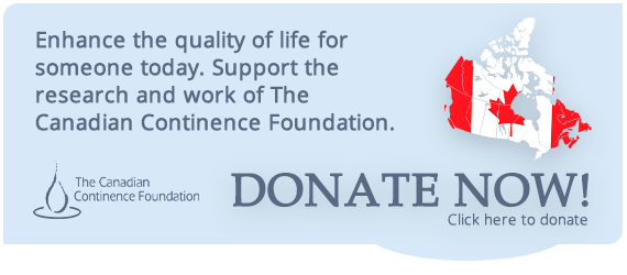 Donate to Canadian Continence today