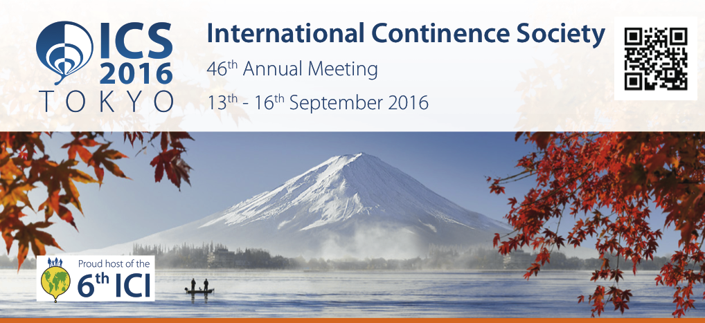 International Continence Society Annual Meeting 2016